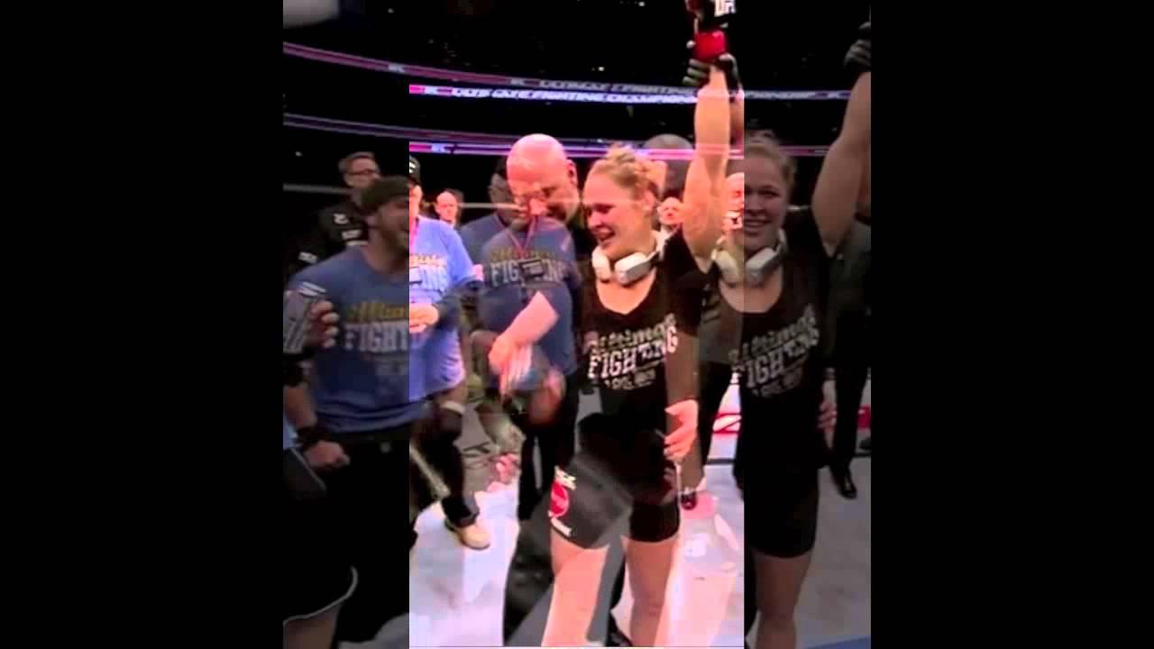 Dana White Groping Ronda Rousey
