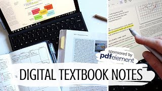 SO. MANY. READINGS. How I take typed textbook notes at university. #ad