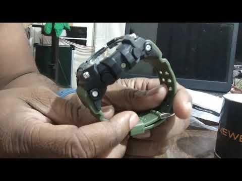 Timewear Military Series Analogue Digital Black Dial Watch For Men & Boys - 1283
