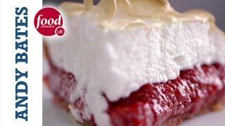Rhubarb Meringue Pie - Andy Bates