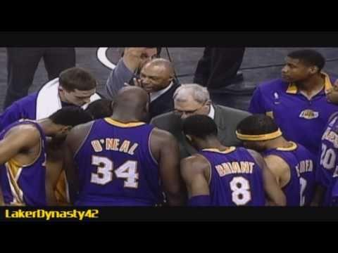 2001-02 Los Angeles Lakers Championship Season Part 2/4