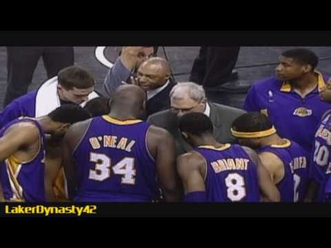 2001-02 Los Angeles Lakers Championship Season Part 2/4