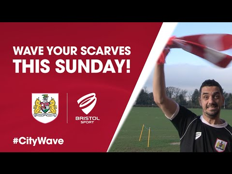 Wave Your Scarves This Sunday! - #CityWave