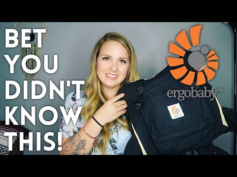 ERGOBABY CARRIER TIPS & TRICKS || BET YOU DIDNT KNOW THIS!