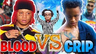 BLOOD vs. CRIP in FORTNITE?! MATCH of THE YEAR! Fortnite: Battle Royale