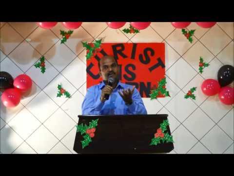 Do you have room for Jesus? Tamil Christmas Sermon by Pastor. David, Word of God Church, Doha Qatar