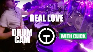 Real Love - Hillsong Y&F (Drum Cam)
