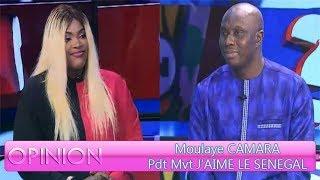 Opinion du 09 mars 2019 avec Moulaye CAMARA (Pdt Mvt J'AIME LE SENEGAL)
