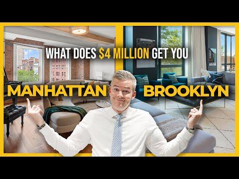 What $4.5 Million gets you in Manhattan vs. Brooklyn