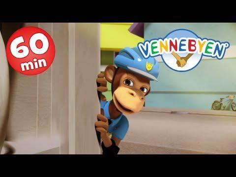 1 time spilletid - 6 episoder - Vennebyen