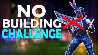 NO BUILDING CHALLENGE | DAEQUAN SNIPING | HIGH KILL GAME - (Fortnite Battle Royale