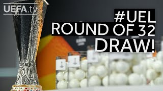 2020/21 UEFA Europa League Round of 32 draw!