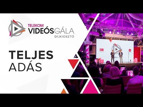 Telekom Videós Gála 2018 - Teljes adás
