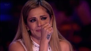"Andrea Makes Cheryl Cole Cry - STUNNING VOCAL! - ""I Didn"