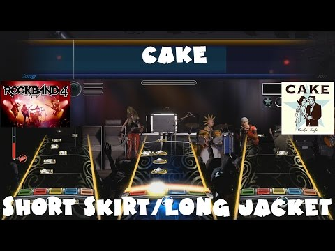 Cake - Short Skirt/Long Jacket - Rock Band 4 Main Setlist Expert Full Band