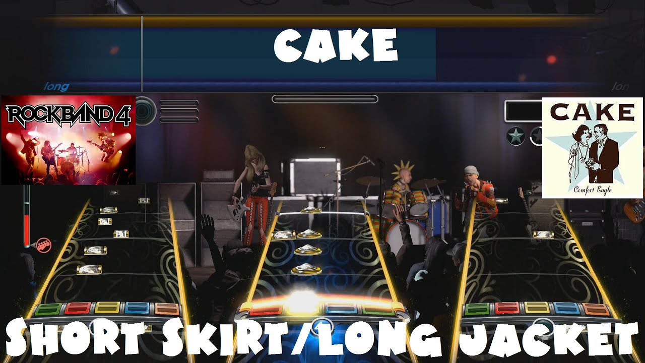 Cake - Short Skirt/Long Jacket - Rock Band 4 Main Setlist Expert ...