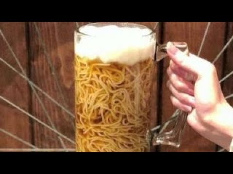 The new fad of beer mug ramen