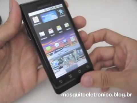 Apresentação Motorola Milestone