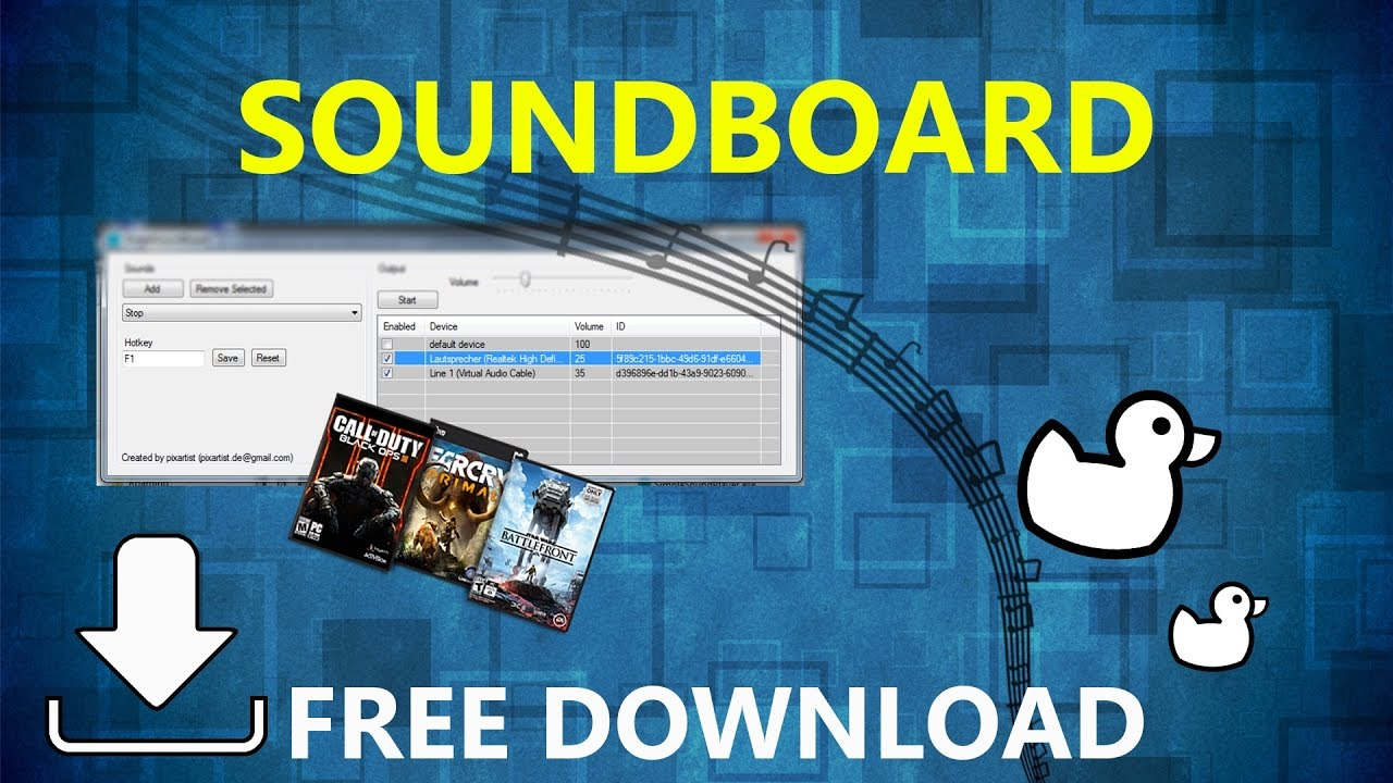 How to download and use a Soundboard | easy Tutorial