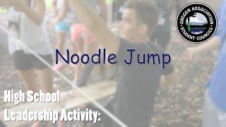 Noodle Jump - High School Leadership Game