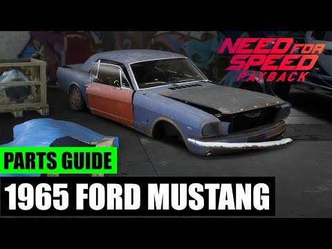 Need For Speed Payback Derelict Parts Locations Ford Mustang 1965 Tech Help