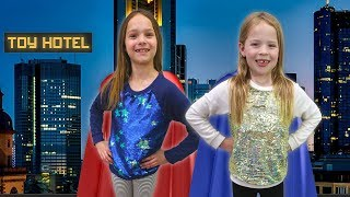 Super Hero Day at the Toy Hotel