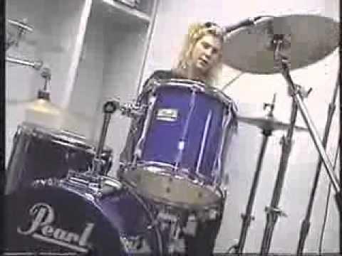 guns n' roses backstage – Duff e Izzy stradin
