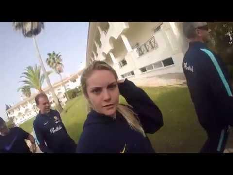 Westfield Matildas 35 hours travel time - Journey to Algarve, Portugal