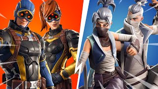 THE PROCHAINS SKINS ON FORTNITE ... (EMOTES AND CAMOUFLAGE ANIME SAISON 8)