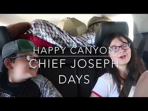 EPIC FUN! Chief Joseph Days - Vlog #15