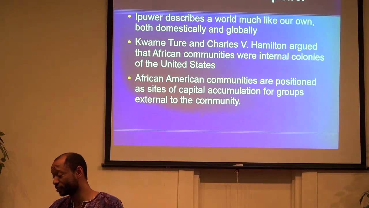 Speaking on Maat, Liberation, and Power at ASCAC 2014