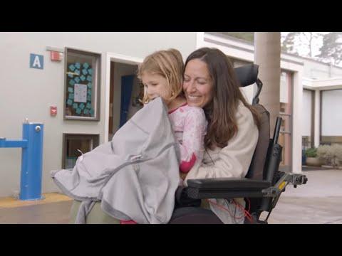 A Beautiful Mother With ALS - Sarah Coglianese - Speed4Sarah