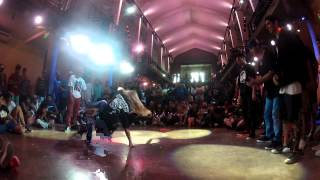 Mariela vs Anita - Final BGirl 1v1  - Knock Out Battle 7 2012