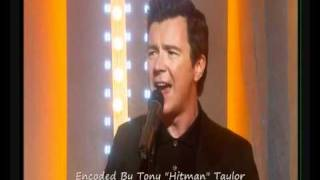 Rick Astley Lights Out This Morning