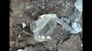 Mining Herkimer 'Diamonds'