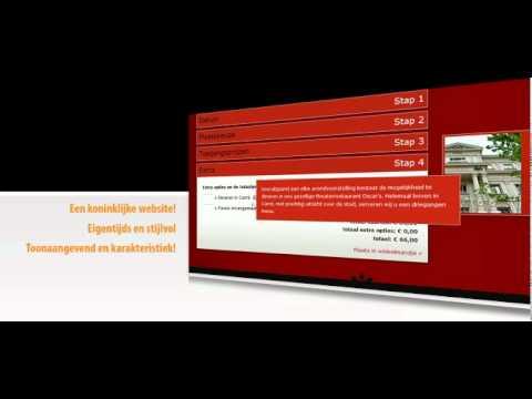 X-com project Koninklijk Theater Carré website