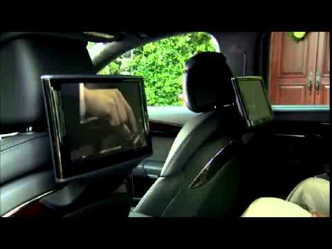 audi a8 rear seat entertainment system youtube. Black Bedroom Furniture Sets. Home Design Ideas
