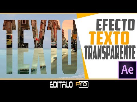 How to Create Transparent Text Effect
