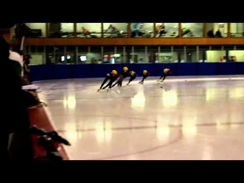 Dunedin Short Track Ice Speed Skating Champs 2014 - Senior Men 3000m Final