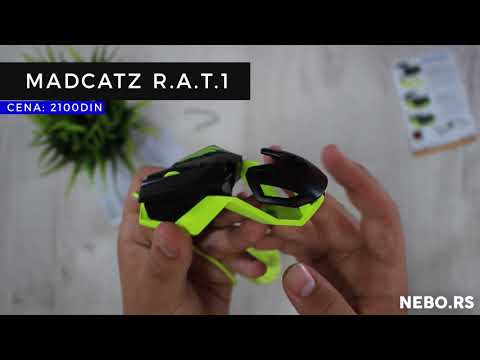Unboxing / Madcatz Wired Gaming Mouse