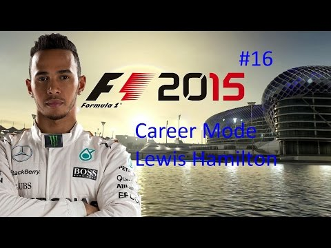 F1 2015 Career Mode United States 50% difficulty Hard Race Lewis Hamilton