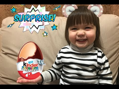 Открываем большое яйцо Киндер Сюрприз Maxi Open the big egg New Years Kinder Surprise Maxi