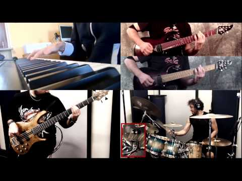 Dream Theater - Enigma Machine - Split Screen Cover