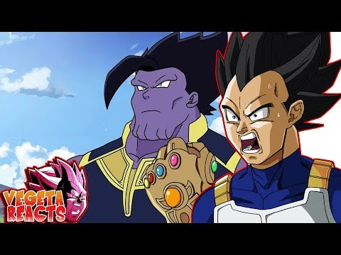Vegeta Reacts To Dragon Avengers Infinity Ball Z!