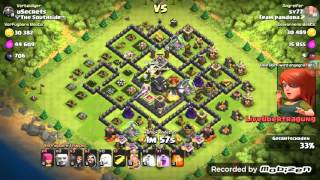 Clash of Clans Live Angriff vom Champ