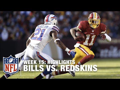 Bills Vs. Redskins | Week 15 Highlights | NFL