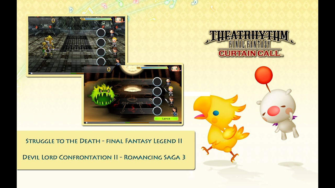 Dlc S Gratis Theatrhythm Ff Curtain Call