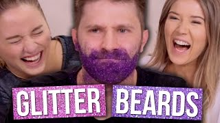 GLITTER BEARD ATTEMPTS (Beauty Break)