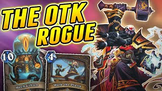 Boiii this Rogue is Insane | Wild Mechathun Rogue | Hearthstone Rise of Shadows