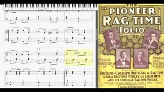 In A Watermelon Patch by Walter Astin (1902, Ragtime piano)